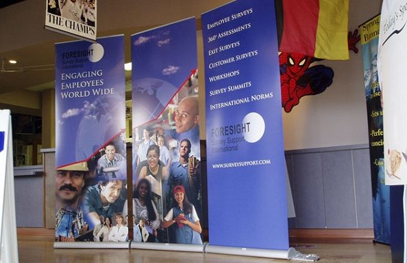 Double sided Pull up banner stands – Heart of your exhibitions and shows!