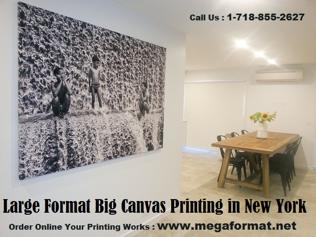 large format big canvas printing mega format