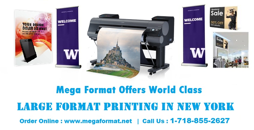 Large Format Printing Online - Large Format Printing Service - Big Canvas Prints - Retractable Banner Printing