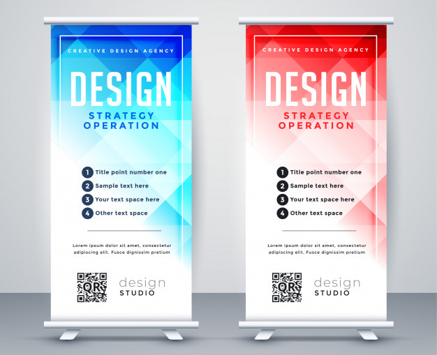 4 Pro Tips and Ideas for Your Retractable Banner Design
