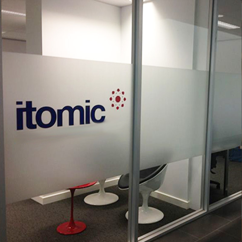 Frosted Vinyl Printing Frosted Window Film Privacy