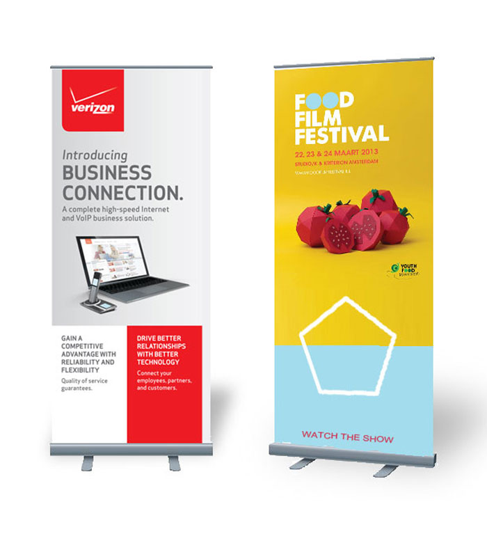 Retractable Banner Printing Pull Up Banners For Trade