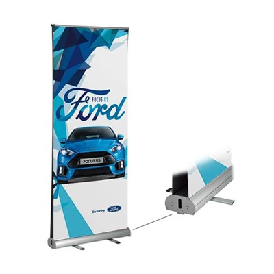 Retractable Banner Double Sided Printing