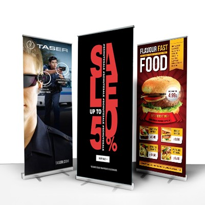 Retractable Banner Printing & Stands